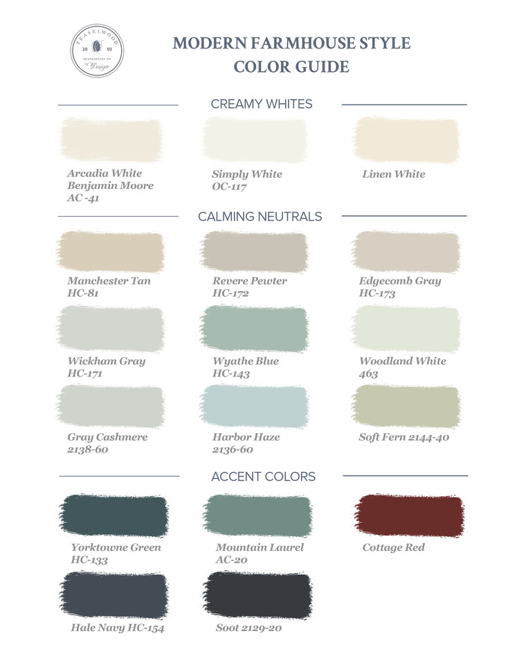 Farmhouse colors