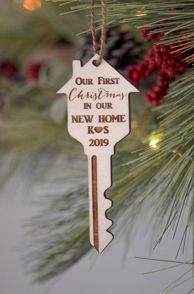 First Home key ornament