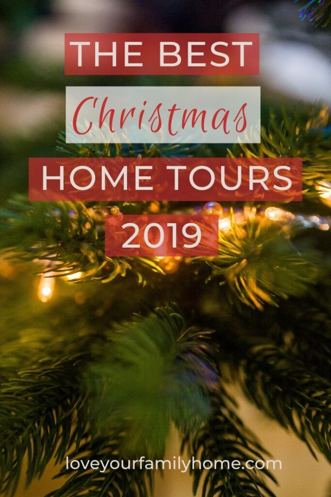 Best Christmas home tours 2019
