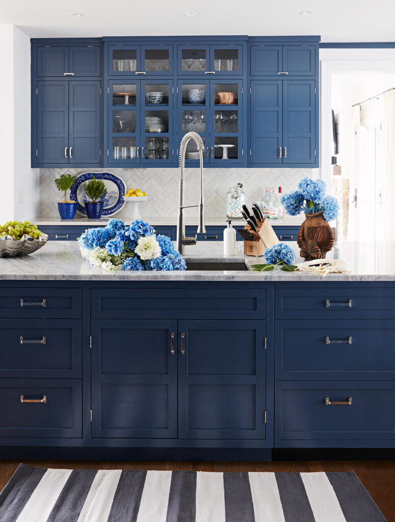 blue kitchen trends 2020
