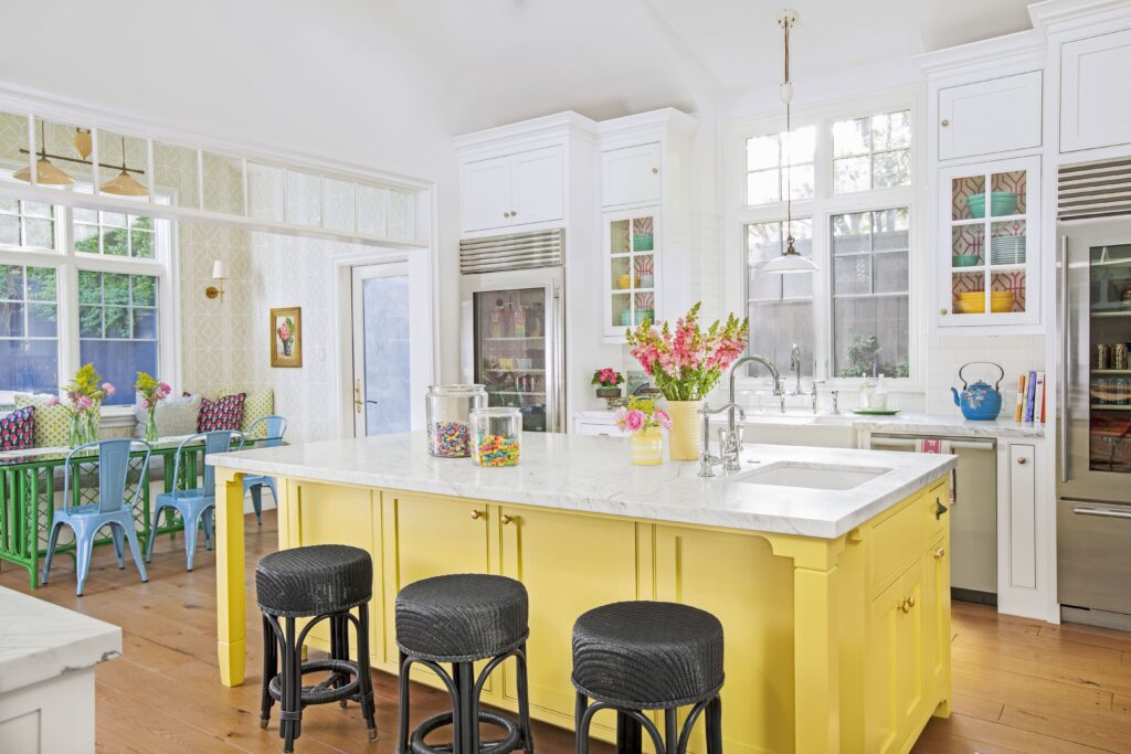 bright colorful kitchen trends 2020
