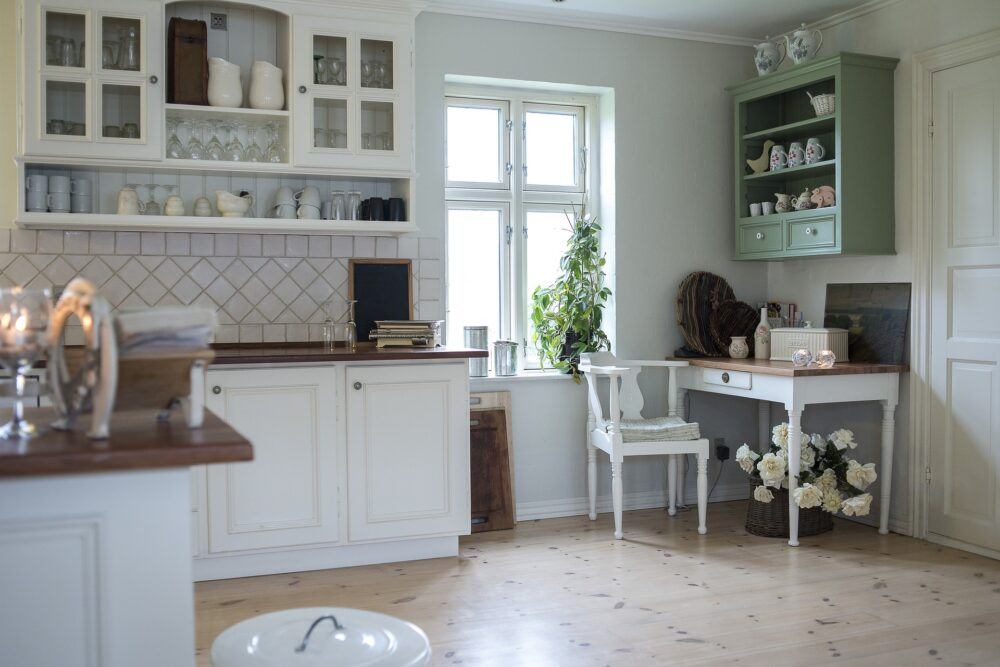 farmhouse style kitchen