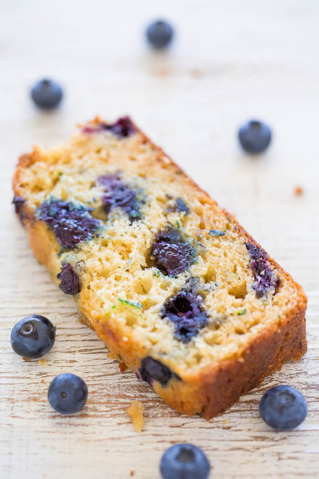Zucchini Bread with Blueberry