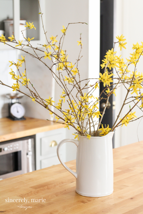 yellow branches